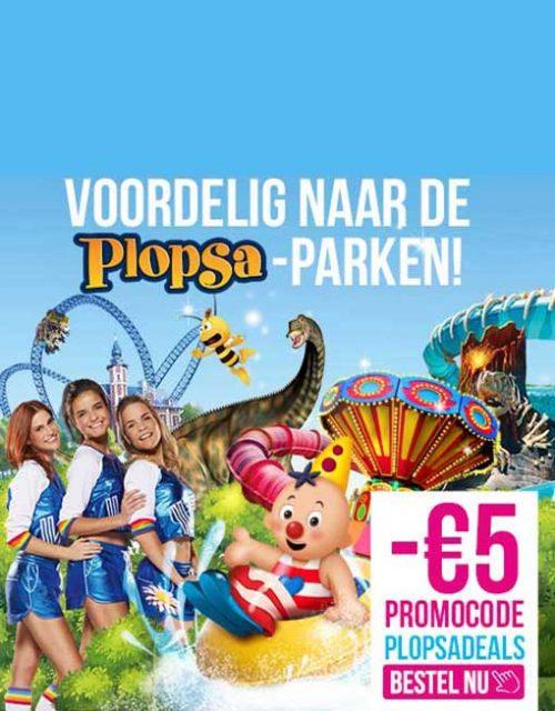 Visit the Plopsa parks!